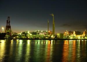 徳山工場夜景4 - コピー